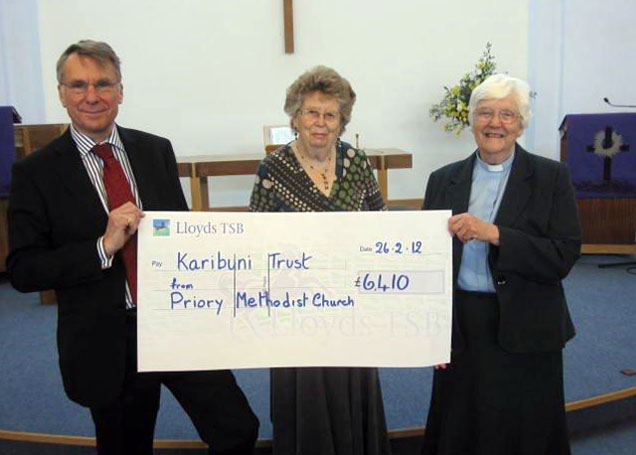 Priory raises £6,410 for Karibuni