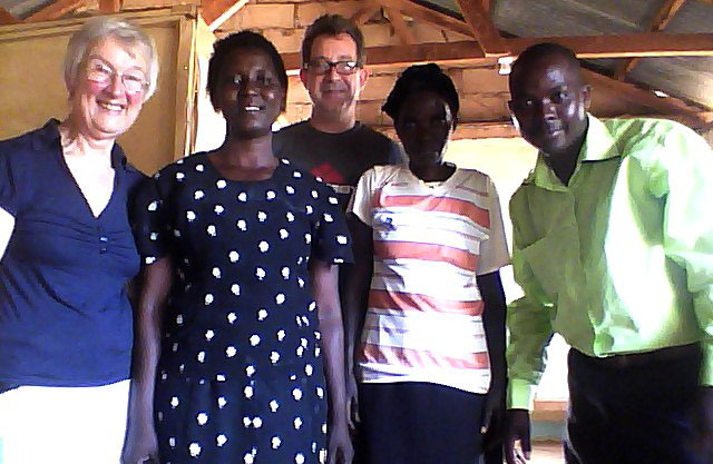 Karibuni Trustees, Joy and Andrew Murphy, are currently in Kenya.