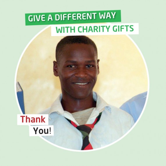 Karibuni charity gifts - Your gift will cover the cost of a diploma course for one year
