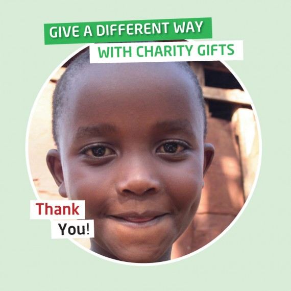 Karibuni Charity gifts - The costs of health care for a sick child.