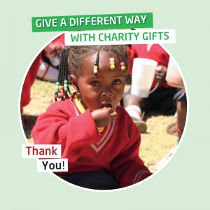 Karibuni charity gifts_ Breakfast and lunch at Nursery for a child for one year