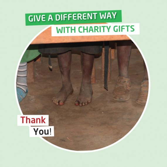 karibuni charity gifts - A child's Nursery School shoes