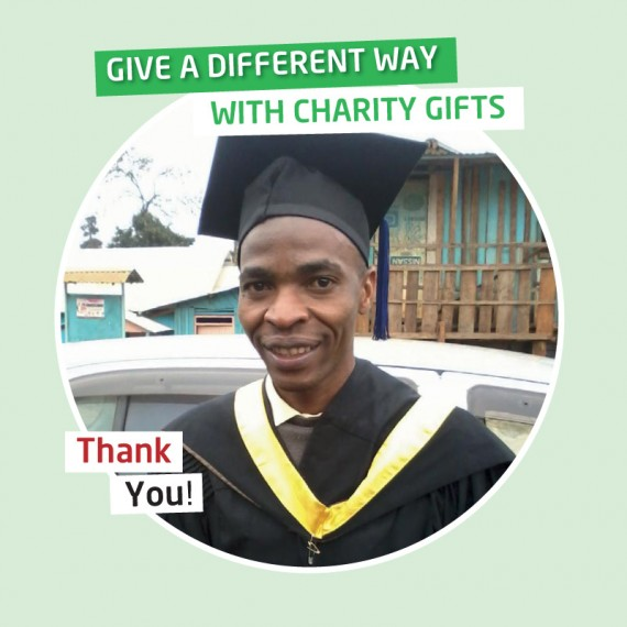Karibuni Charity gifts - Your gift will cover University charges for a degree course for one year