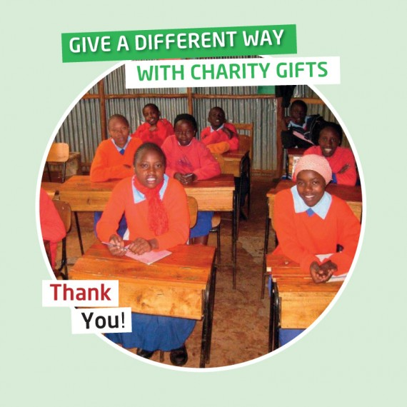 Karibuni Trust gifts - Your gift will provide a desk with opening top