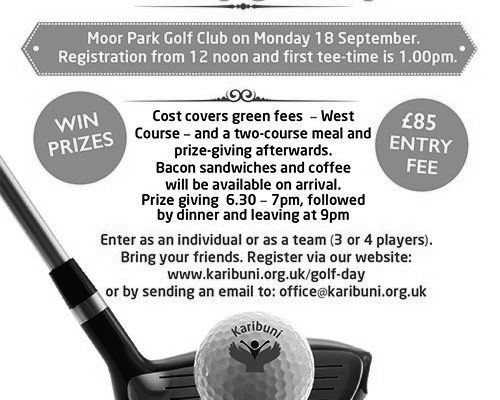 Golf Day September 2017