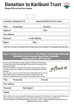 donate form