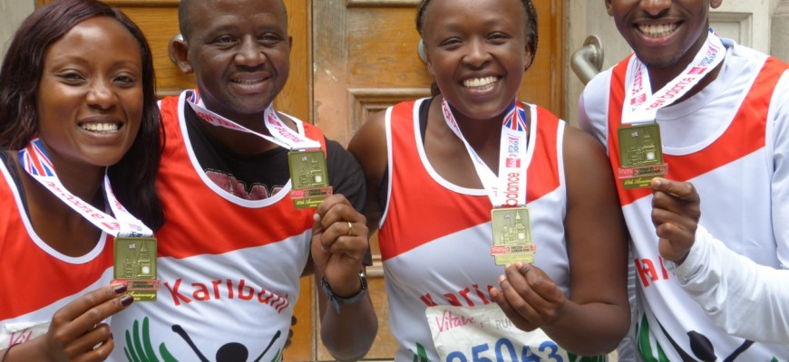 Karibuni Runners,  Well done and many thanks!