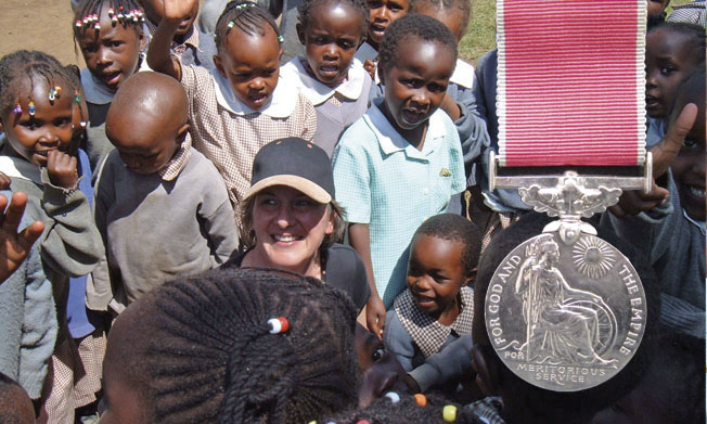 British Empire Medal for Corinne Murphy, founder of Karibuni Children