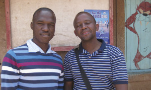 Eric with Joshua Katungu the Karibuni representative in Kenya