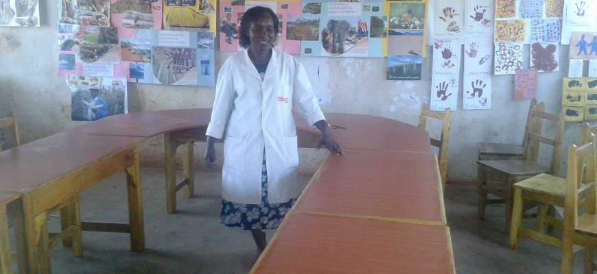 Ncuui Primary School desks