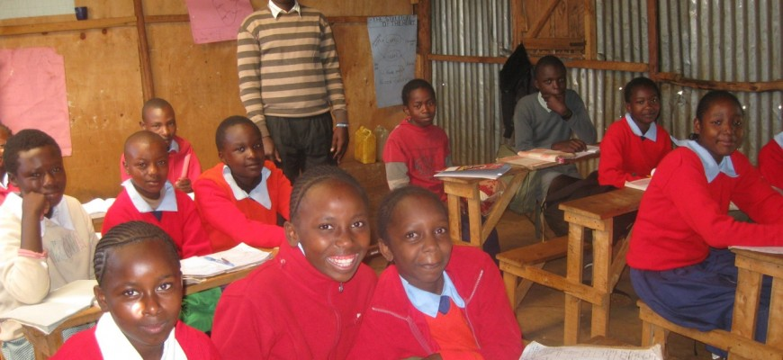 New classrooms for Limuru Academy!