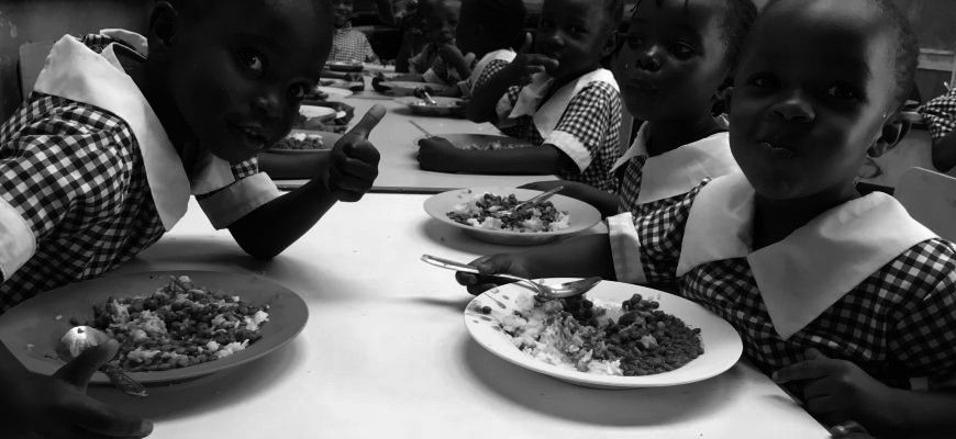 Can you please help us to feed Karibuni's sponsored children?